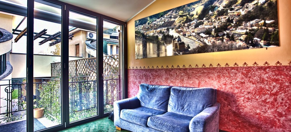 bed and breakfast bergamo salottino relax